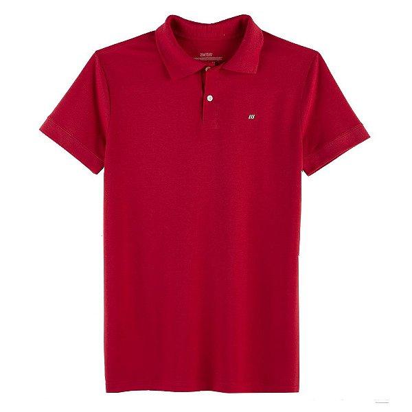 Camisa Polo Mugello - Vermelho