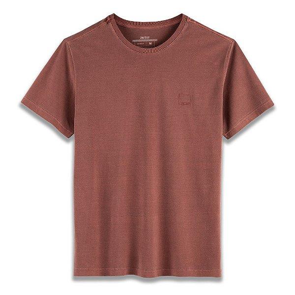 Camiseta Basic Stone - Terra Cota
