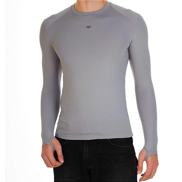 Camiseta Segunda Pele 2mt - Cinza