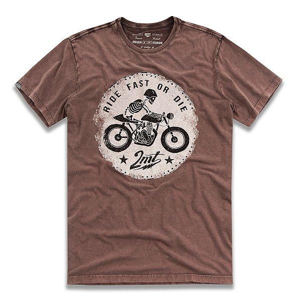 Camiseta Fast or Die