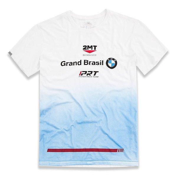 Camiseta OFICIAL Equipe BMW - Branco