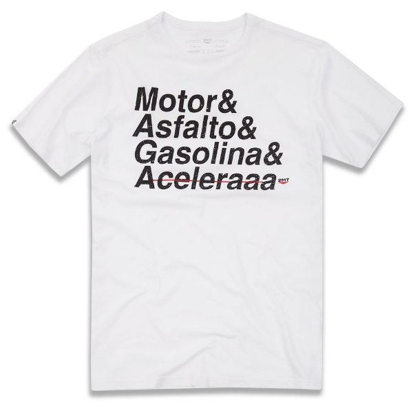 Camiseta Motor e Asfalto