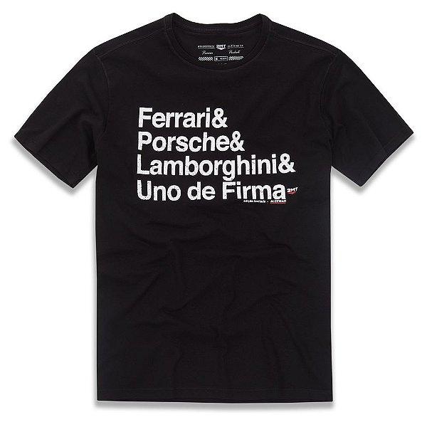 Camiseta Uno de Firma - Preto