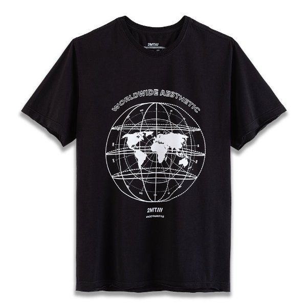 Camiseta Techno Map