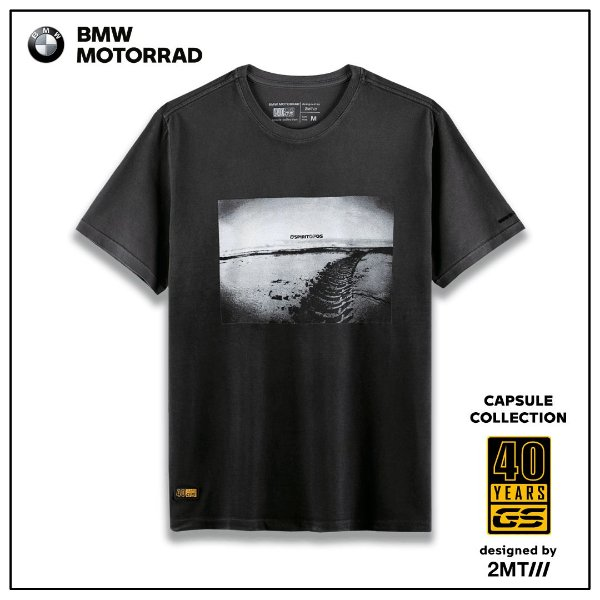 Camiseta BMW Tire Tracks - Masculino