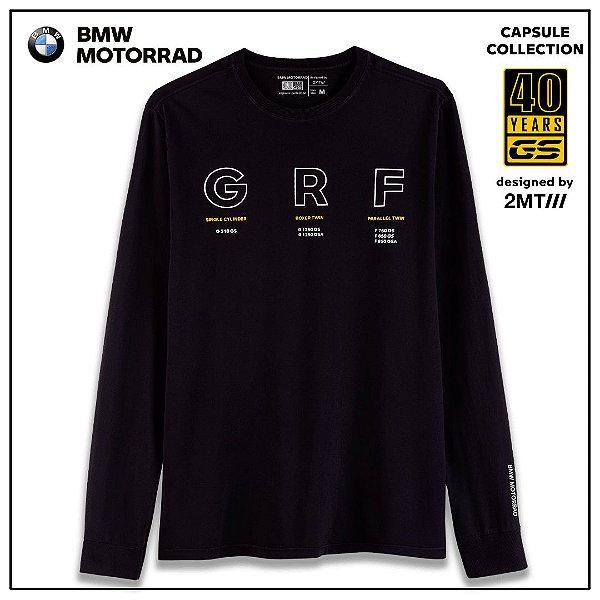 Camiseta BMW 40Years GRF - Masculino