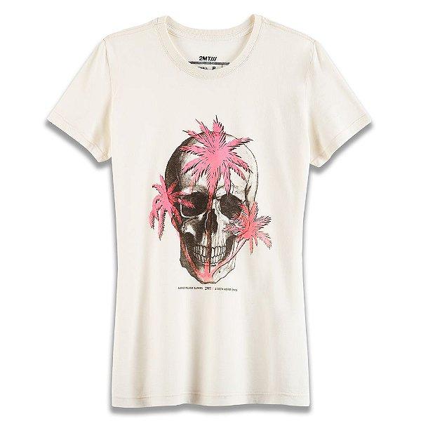 Camiseta Tropical Skull