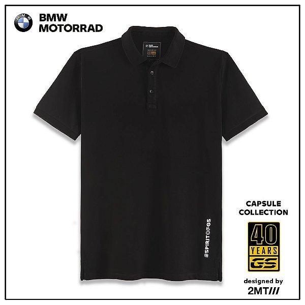 Camisa Polo BMW Dark Spirit - Masculino
