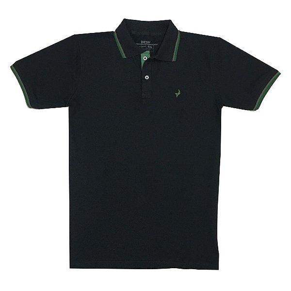 Camisa Polo Texas - Preto