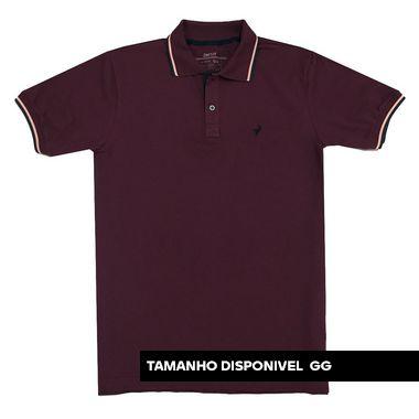 Camisa Polo Texas - Bordo