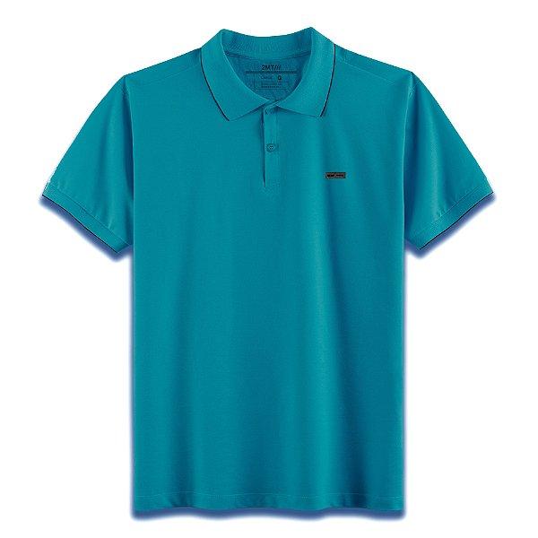 Camisa Polo Edinburgh - Verde Petróleo