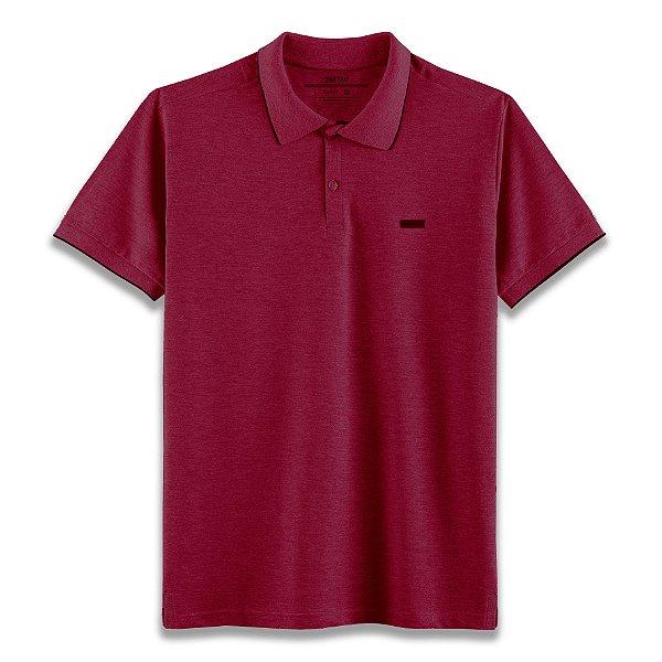 Camisa Polo Edinburgh - Vinho