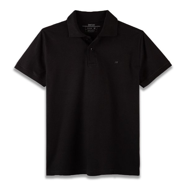 Camisa Polo Palermo - Preto
