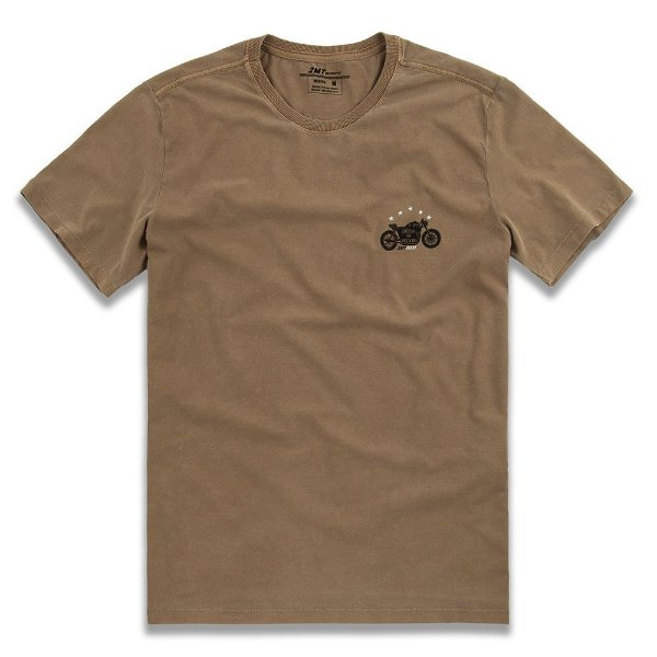 Camiseta Stone Biker - Ocre