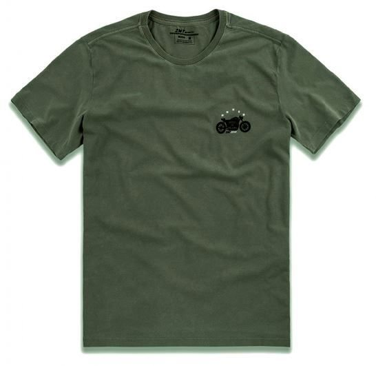 Camiseta Stone Biker - Militar
