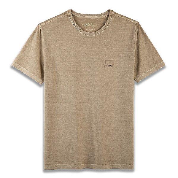 Camiseta Basic Stone - Areia