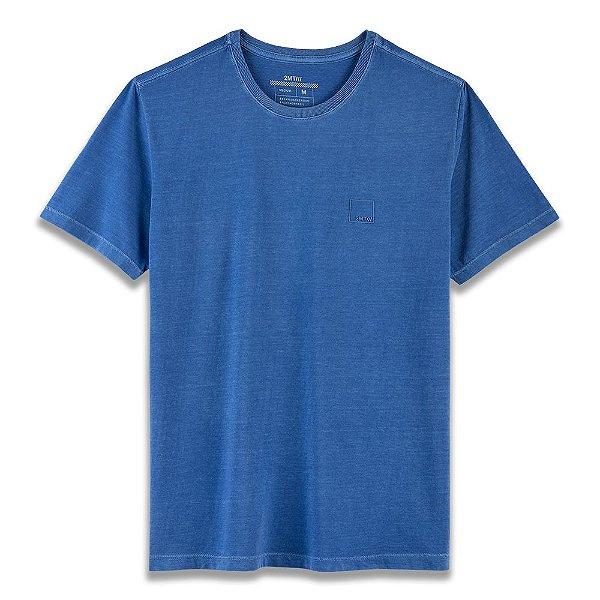 Camiseta Basic Stone - Azul Royal