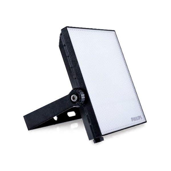 Refletor Led Aluminio 20W Bivolt IP65 6500K Preto Philips