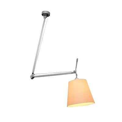 Luminária Articulada Fuocco 157cm Bella Cromada OP8617