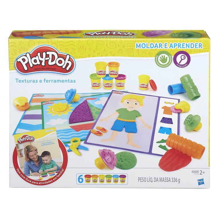 Conjunto Play-Doh Aprendizado Sensorial - Hasbro