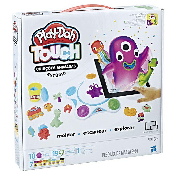 Conjunto PlayDoh Studio Moldar a Vida Hasbro - C2860
