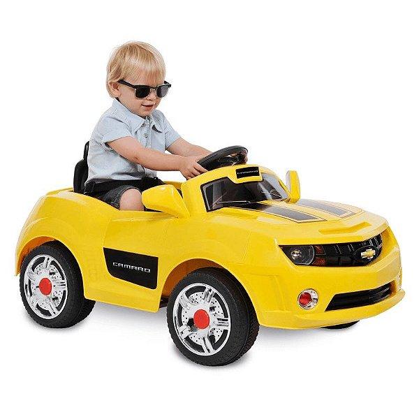Camaro Amarelo R/C - EL 6V - Bandeirante 2614