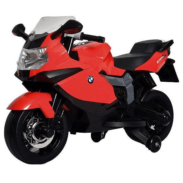 Moto BMW K1300 (Vermelha) Elétrica 6V Bandeirantes - 2731