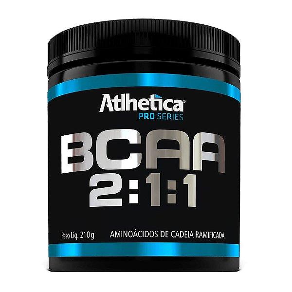 BCAA Atlhetica Pro Series 2:1:1 - Limão - 210g