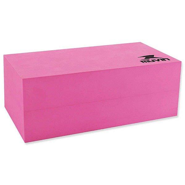 Bloco de Yoga 22cm x 8cm x 15cm – BLY-200 - Pink - Muvin