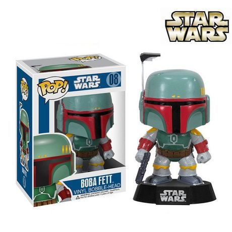FUNKO POP - Star Wars Boba Fett - Pop Vinyl