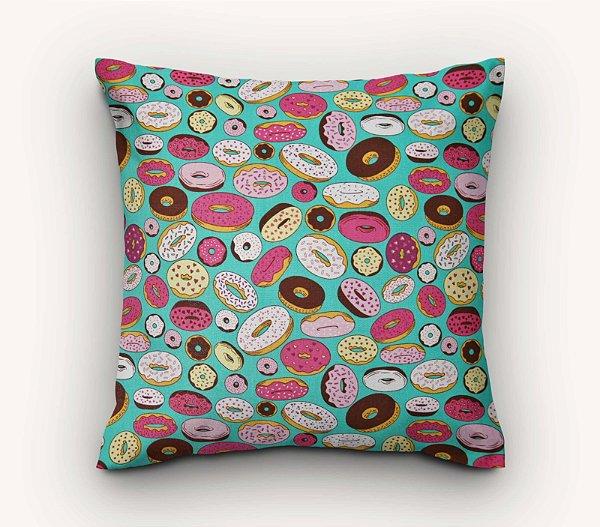 Capa de Almofada Donuts