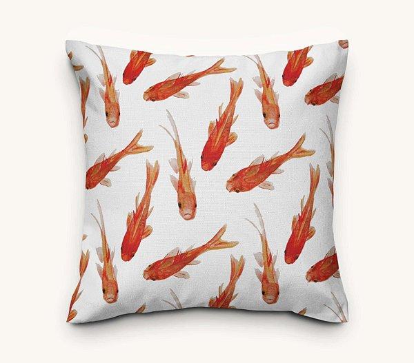 Capa de Almofada Peixe Dourado