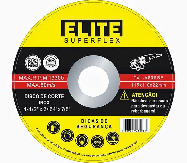 DISCO DE CORTE INOX - ELITE