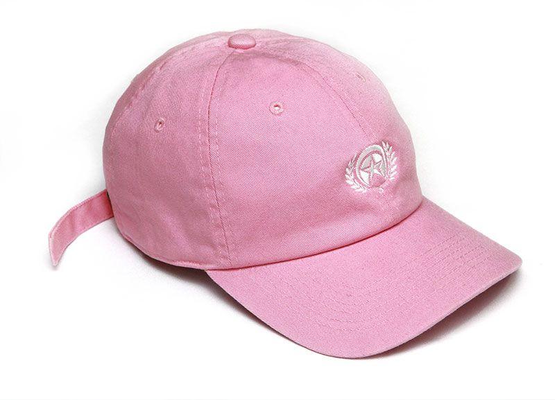 Cap Dad Hat Logo Rose