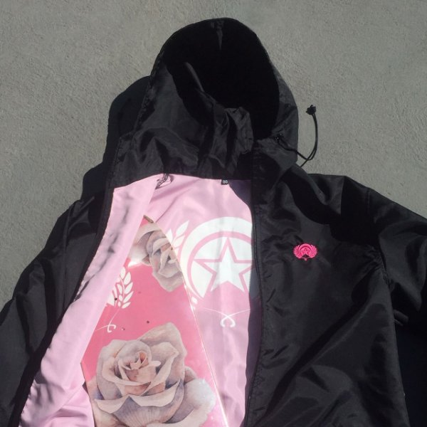 WINDBREAKER FOLLY UMBRELLA CALLIGRA ROSE