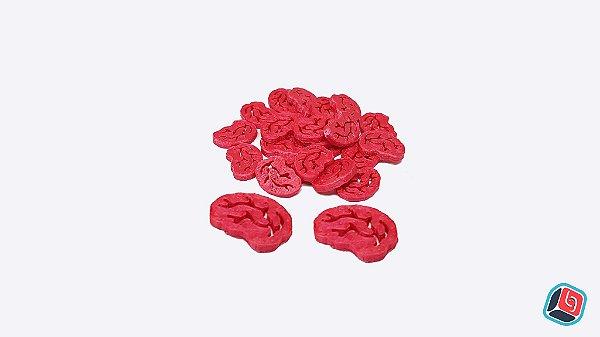 Kit de Cérebros 3D Zombie Dice
