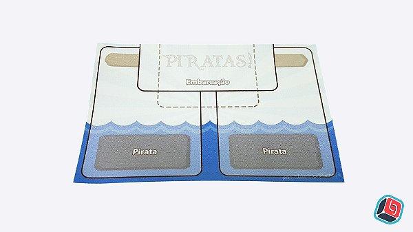 Playmat Individual Piratas - 6 unidades