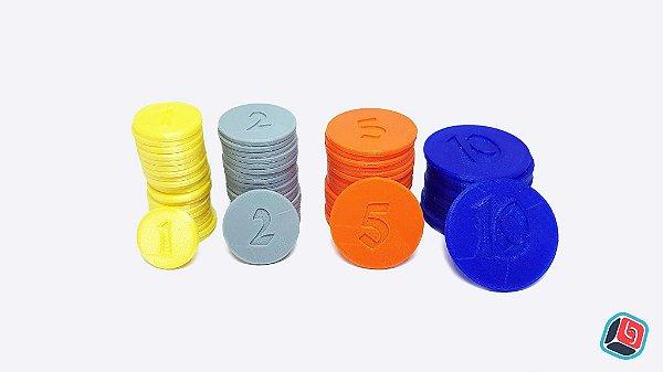 Kit de Moedas de plástico Isle of Skye