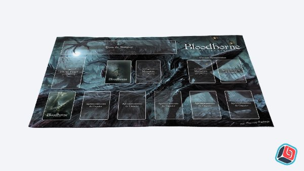 Playmat Bloodborne Card Game