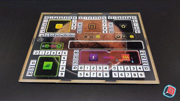Overlay Terraforming Mars com Player Board - 5 unidades