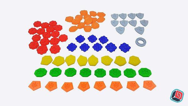 Kit de Tokens 3D Keyforge