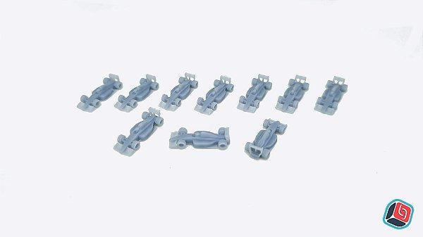 Miniaturas de Carro Formula D em Resina