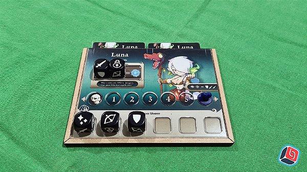 Dashboard + Overlay Masmorra Dungeons of Arcadia - 5 unidades