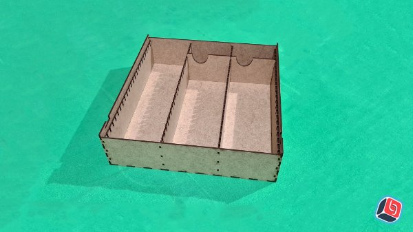 Caixa de Cartas Universal Horizontal Personalizada em MDF
