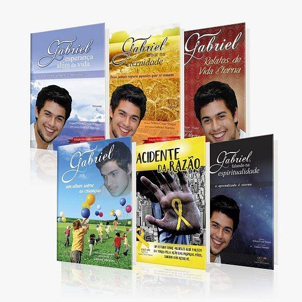 Kit 6 Livros Gabriel Martins Nilton Stuqui CEGM EDITORA