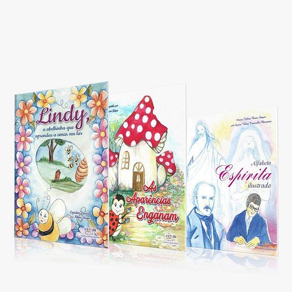 Kit 4 Livros Infantil Nilton Stuqui CEGM EDITORA