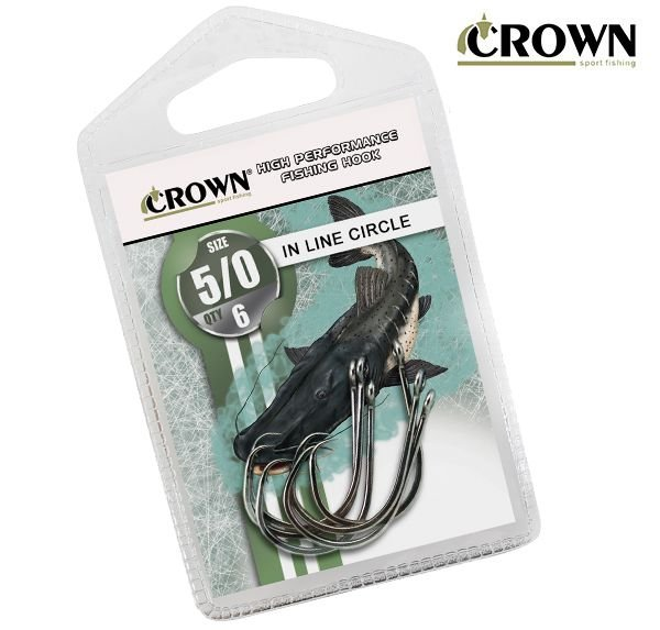 Anzol Crown In Line Circle
