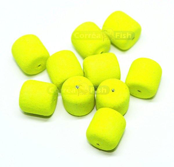 Eva Boleado Formato Ração - Amarelo Luminoso Neon
