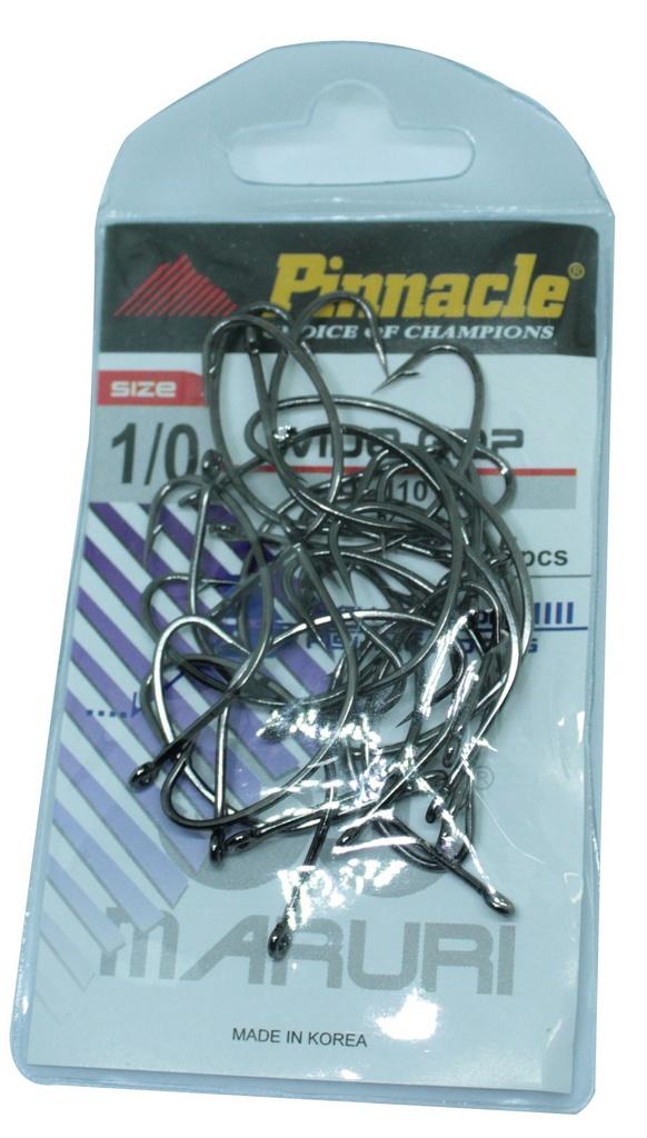 Anzol Wide Gap Pinacle 1/0 C/25pçs P/ Anteninha