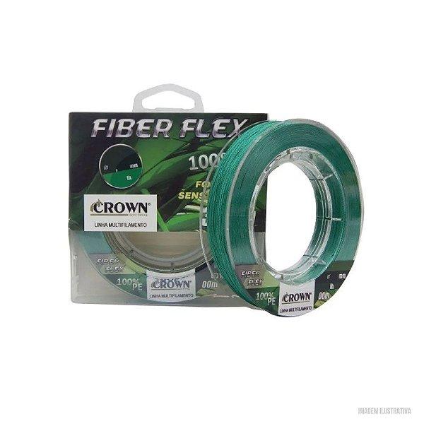 Linha Multifilamento FIBER FLEX  0,28MM 100MTR